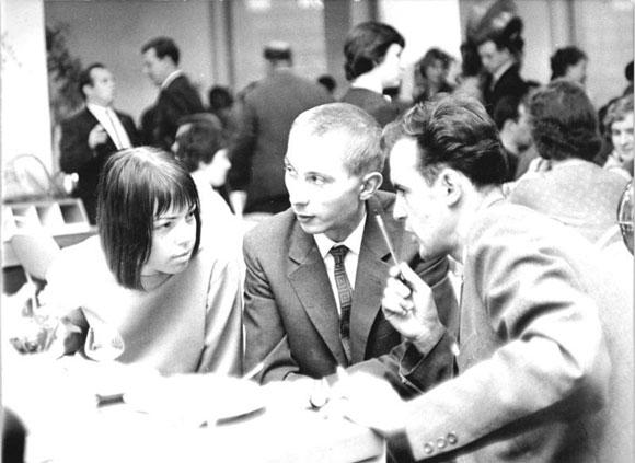 Sarah Kirsch 1964 (Bild: Bundesarchiv, Bild 183-C1114-0020-002 / Franke, Klaus / CC-BY-SA)