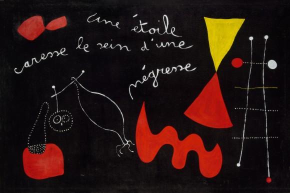 Joan Miró (1893-1983): Peinture-poème (