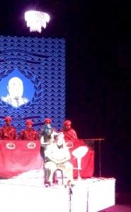 Party beim Diktator (Foto HHF)