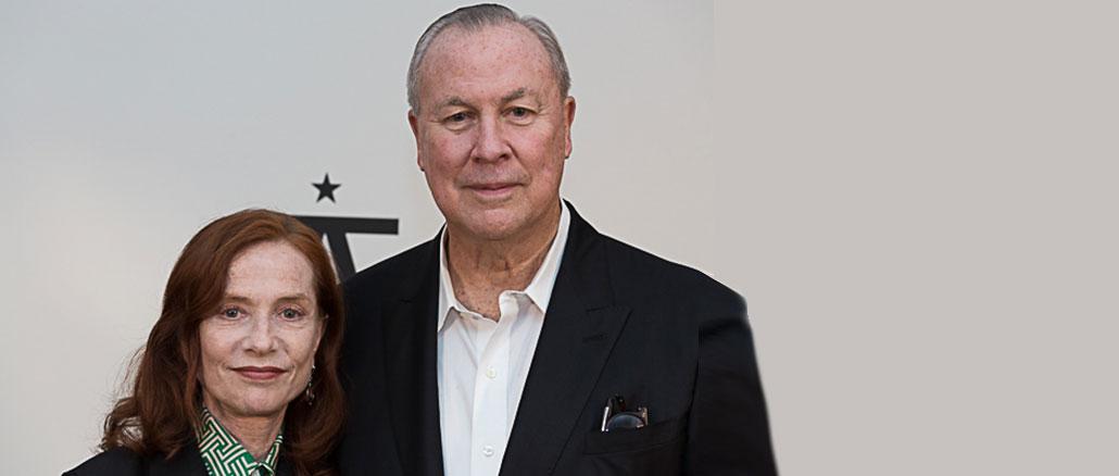 Robert Wilson und Isabelle Huppert